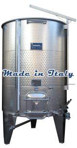 Wine Storage Tanks From Italy